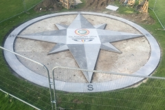 Commonwealth Games, Glasgow Decorative Compass