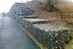Gabion Retaining Wall Stewarton
