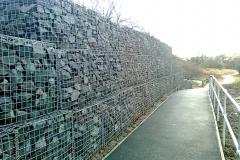 Gabion Retaining Wall, Stewarton